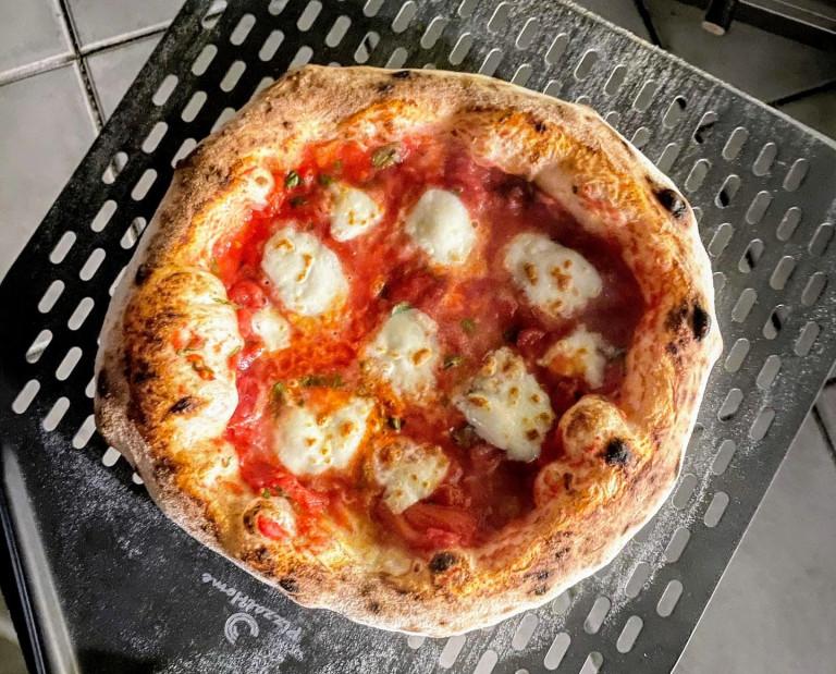 Abbildung der fertigen Pizza